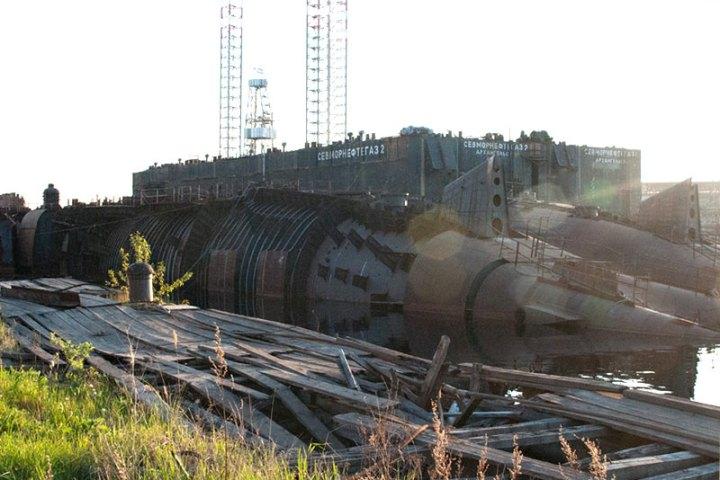 oscar K-135 Volgograd and K-160 Barnaul