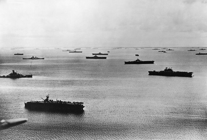 us fleet at majuro atoll