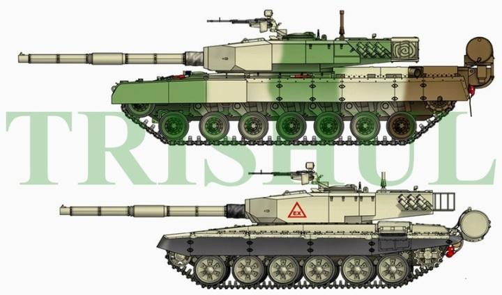 Arjun Mk1 and TANK_EX