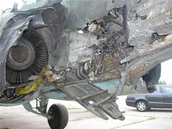 Shows The Damage Su 25 Managed To Return With