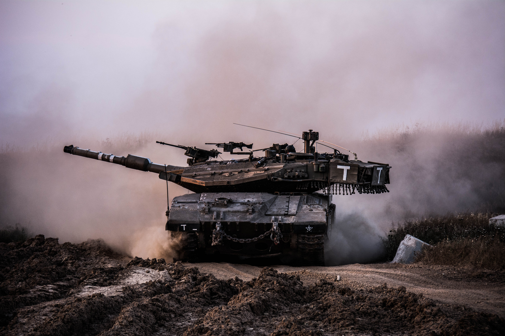 Israeli tank Merkava-4: characteristics, photo 95