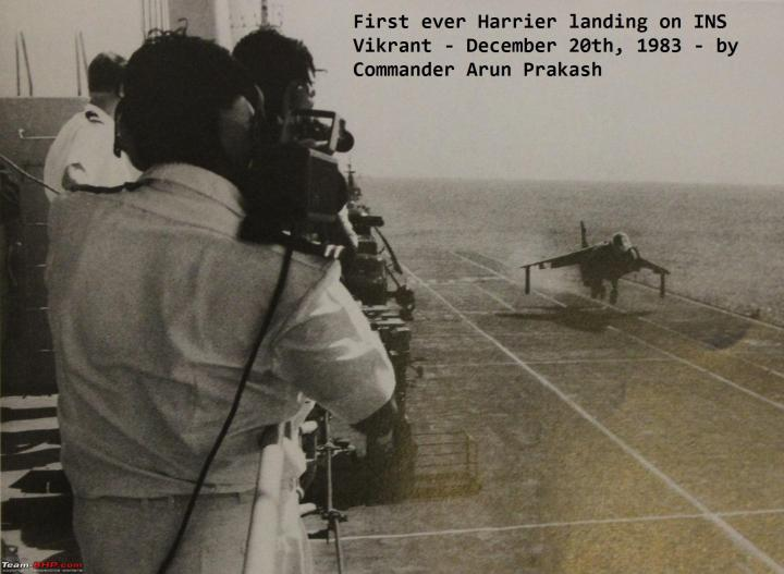 Harrier_s first landing on INS Vikrant